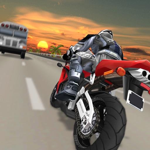 Moto Traffic Racer. Real Rush Rider in Highway 3D