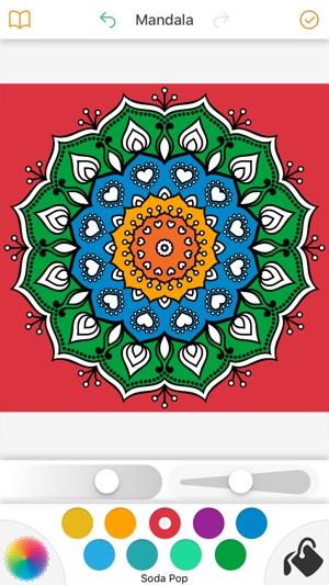 Mandala Boyama Kitabi Oyunlari App Store Da