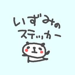 Izumi Panda Stickers!