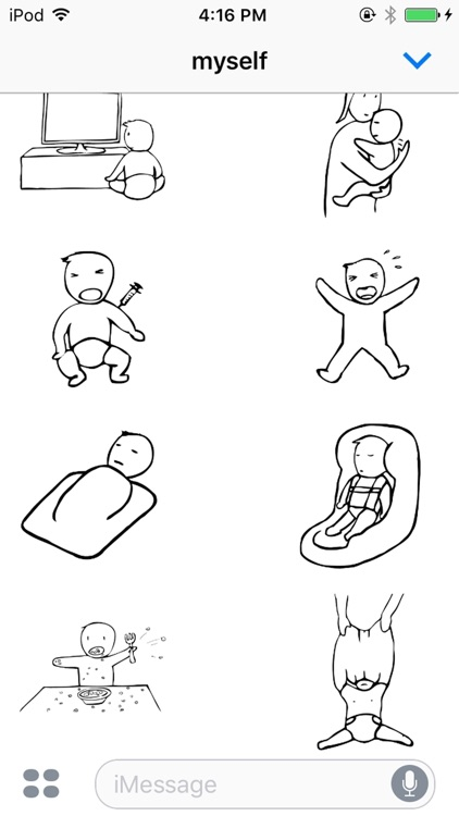Parenting Baby Stickers