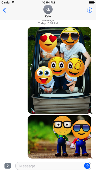 Animated Smiley Stickers screenshot one