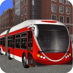 Hill Metro Bus Simulator 3d