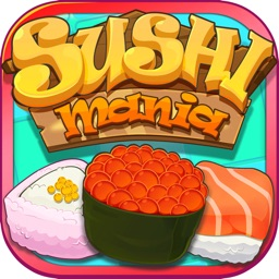 Sushi Mania-Funny Puzzle Game