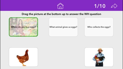 Screenshot #9 for Wh Questions by Teach Speech