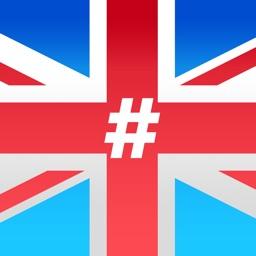 #BritishSlang - Stickers for British slang phrases