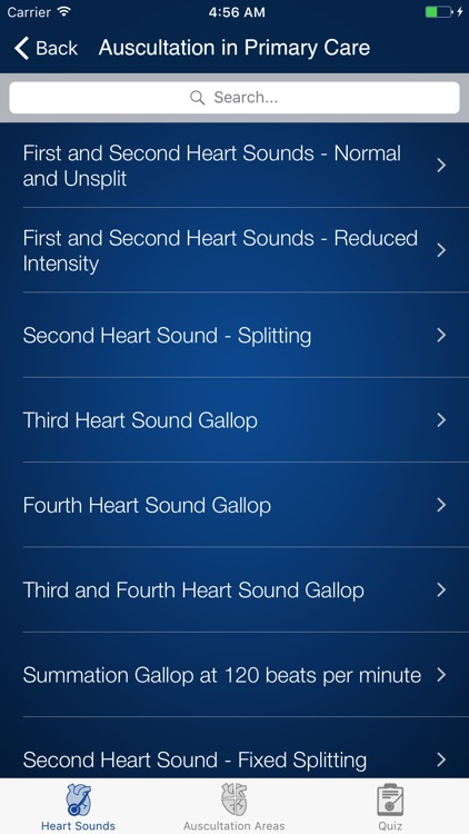 Heart Sounds Auscultation & Quiz screenshot-2