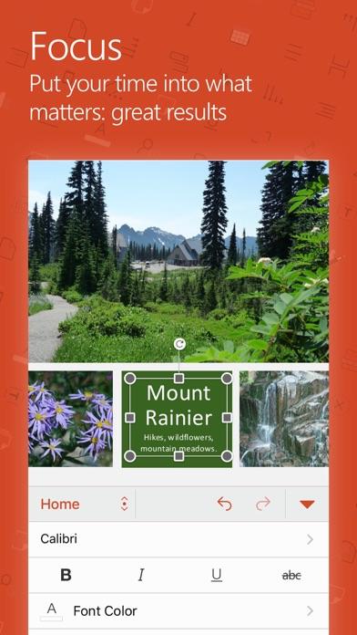 Microsoft PowerPoint app image