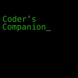 Coder's Companion_