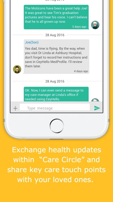 download CeyHello Medication Adherence & Patient Engagement apps 1