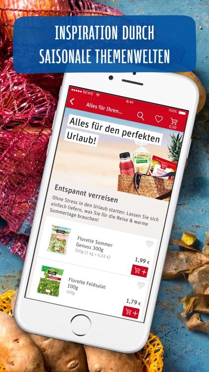REWE Lebensmittel – Supermarkt & Lieferservice screenshot-3