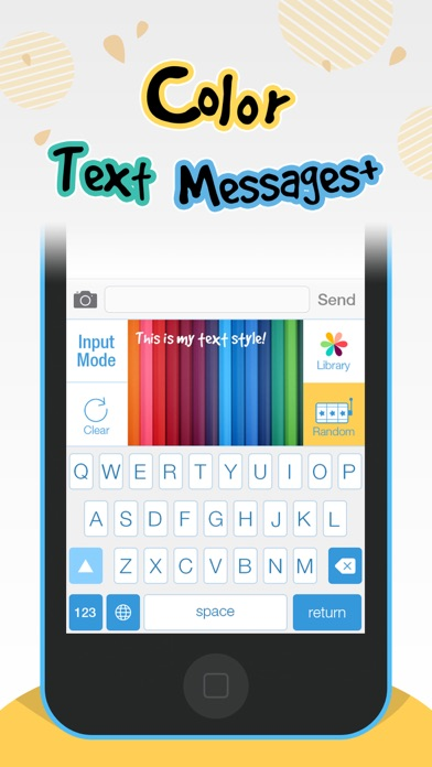 Color Text Messages+ Customize Keyboard Free Now-0