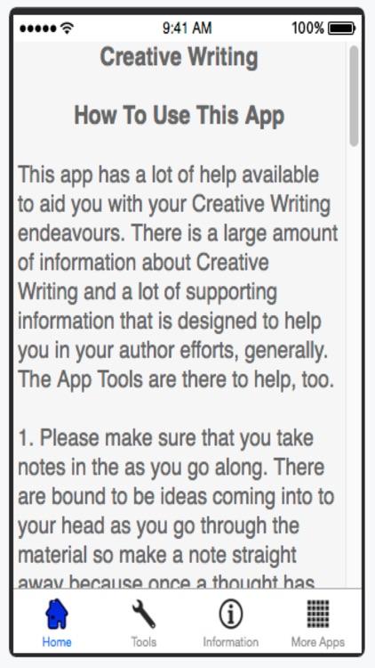Creative Writing screenshot-4