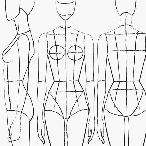 Prêt à Template - Fashion Drawing app logo