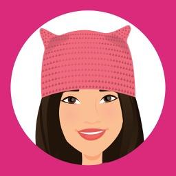 T'elle-Donna: Women's March Stickers