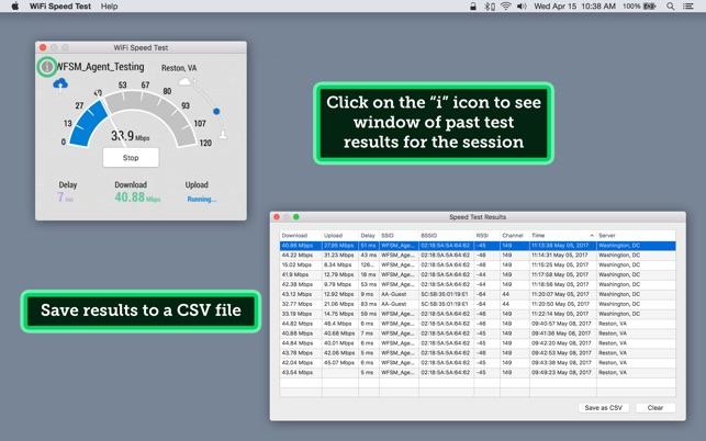 WiFi Speed Test on the Mac App Store