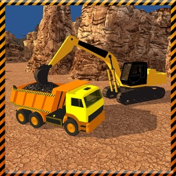 Coal Digger Crane Crew Simulator