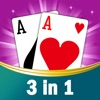 3 in 1 New for FreeCell, game, leisuresolitaire