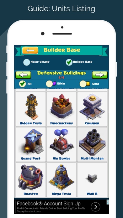 Guide & Tools for Clash Of Clans screenshot one