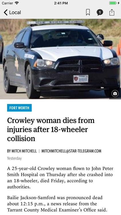 Fort Worth Star-Telegram News