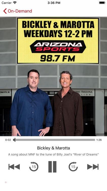 Arizona Sports 98.7 FM screenshot-3