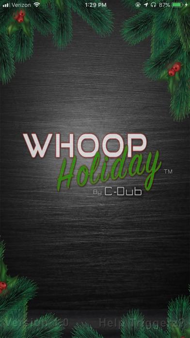 Whoop Holiday Screenshot