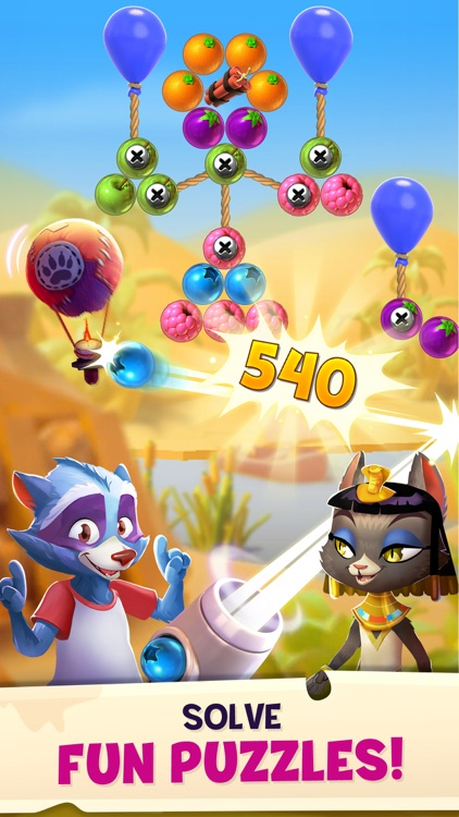 Bubble Island 2: Fruit Shooter screenshot-3