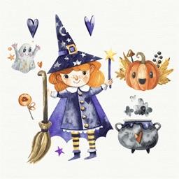 Nice Watercolor Halloween Pack