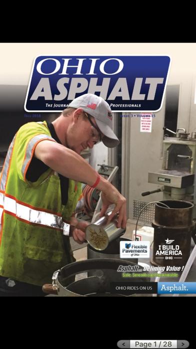 Ohio Asphalt Magazine screenshot one