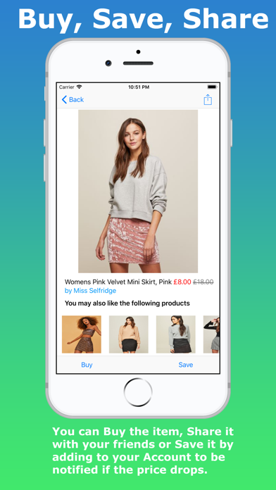 LoveVoucher Shopping App screenshot four