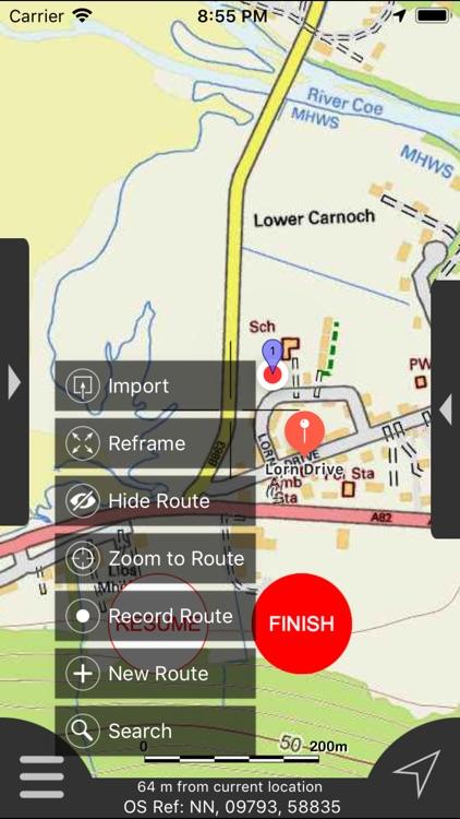 Ben Nevis & Glen Coe Maps screenshot-5
