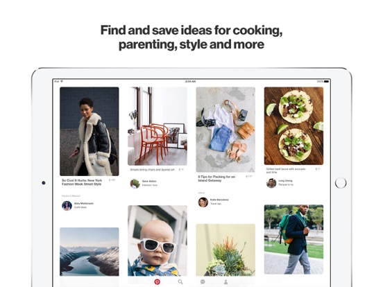 Pinterest Screenshots