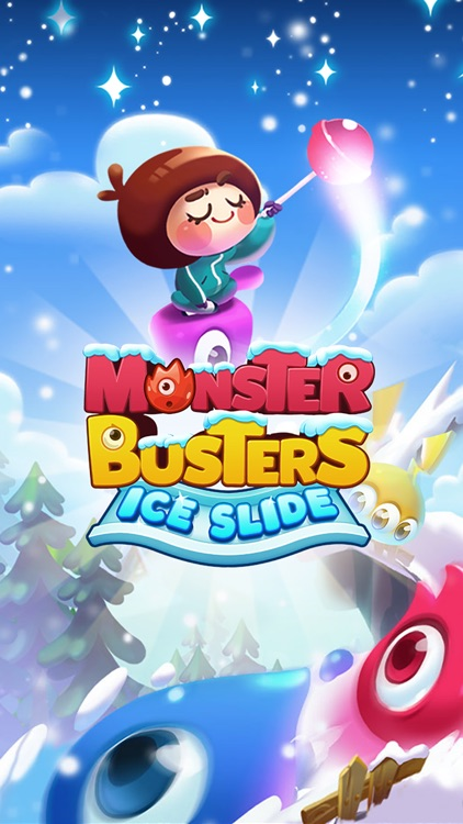 Monster Busters: Ice Slide screenshot-5