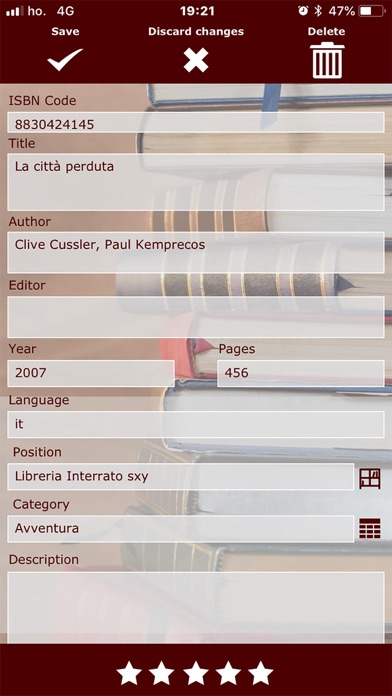 Libri Full ScreenShot3