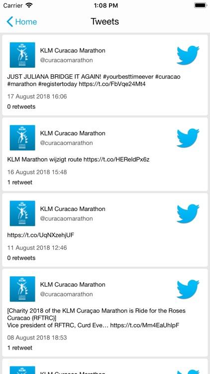 KLM Curaçao Marathon screenshot-5