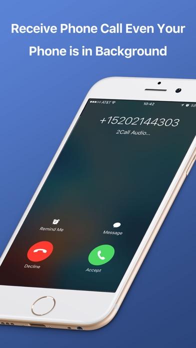 2Call Second Phone Call Number Screenshot