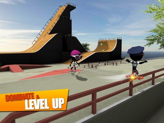 Screenshot #5 for Stickman Skate Battle