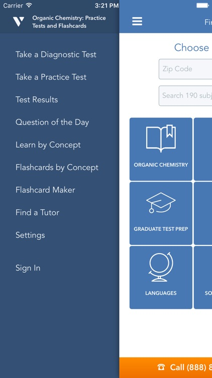 Organic Chemistry: Practice Tests and Flashcards