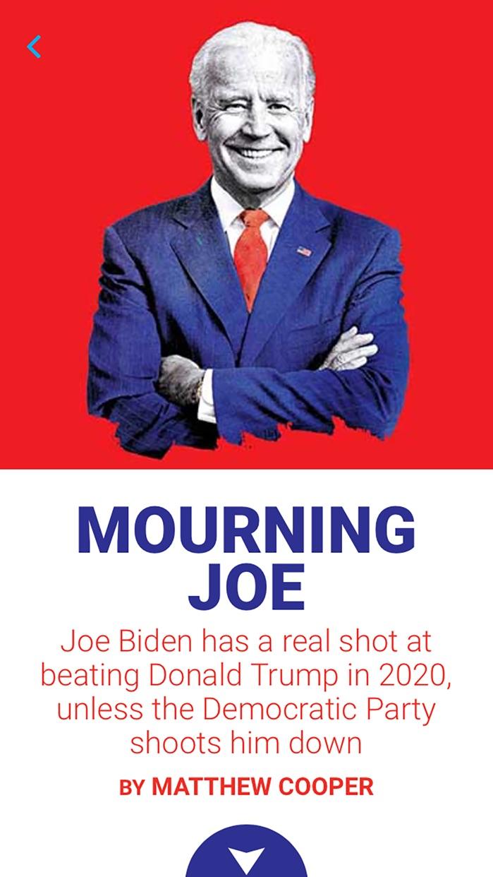 Newsweek Screenshot