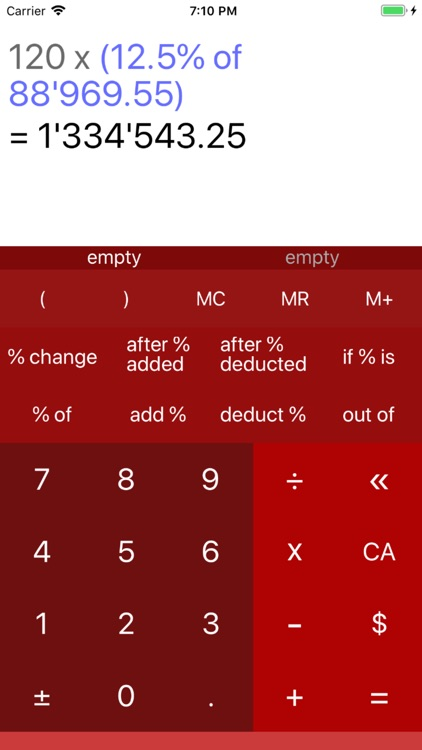 Percentage Calculator 7 screenshot-4