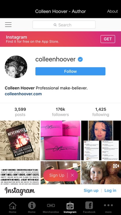 Colleen Hoover - Author screenshot-3