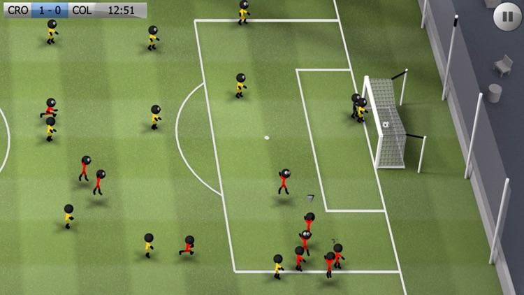 Stickman Soccer screenshot-4