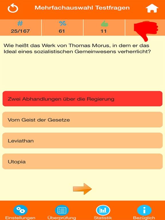 Der Philosophie Wissenstest screenshot 8