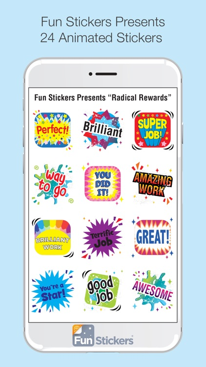 Radical Rewards iSticker screenshot-2