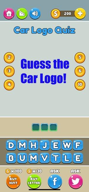 Logo Quiz Car Logos On The App Store