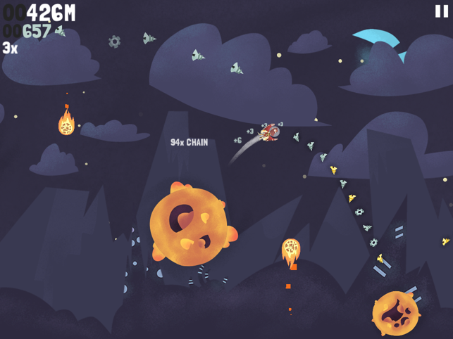 Beyond Gravity, game for IOS