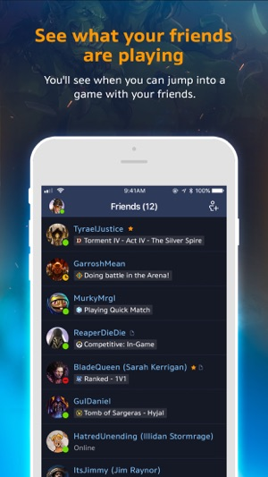 Blizzard Battle net on the App Store