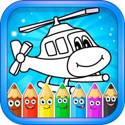 Boyama Oyunları öğrenme Parmak Boya Için App Storeda