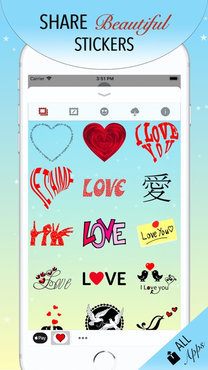 I Love You • Stickers & Emoji screenshot-3