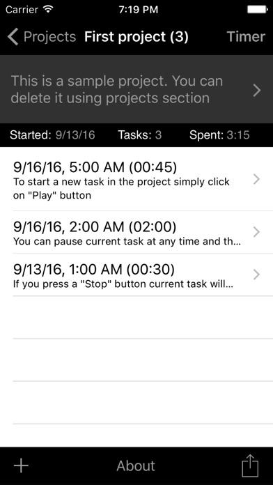 Task Tracker Utility Screenshots