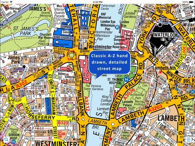 Greater London A Z Street Map on the App Store